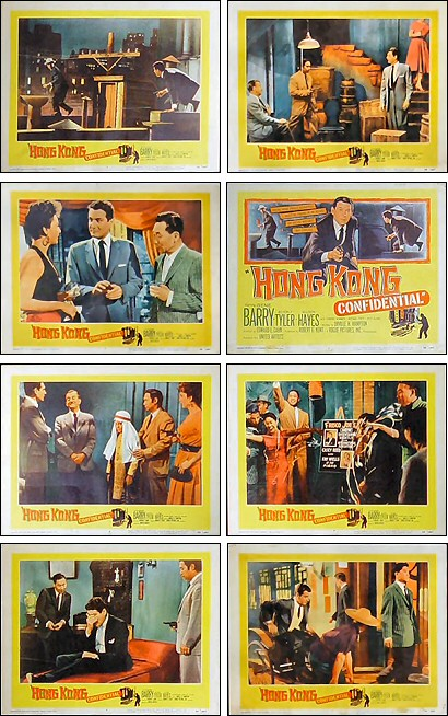 Hong Kong Confidential lobby cards