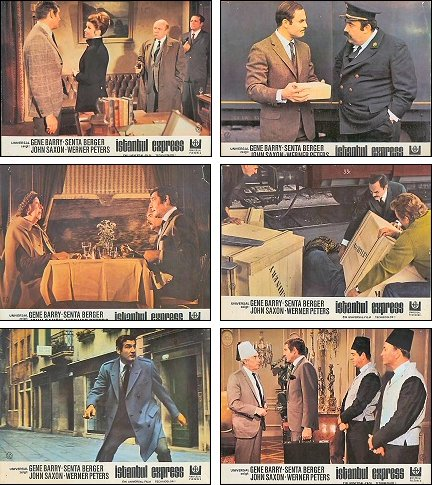 Istanbul Express lobby cards - German release