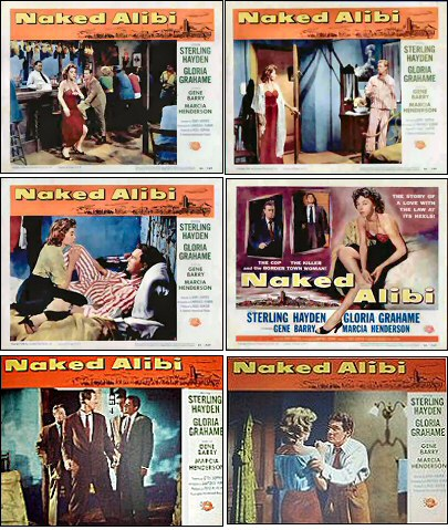 Naked Alibi lobby cards