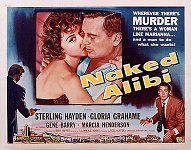 Naked Alibi lobby card