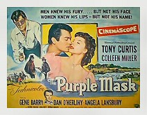 The Purple Mask 1/2 sheet poster