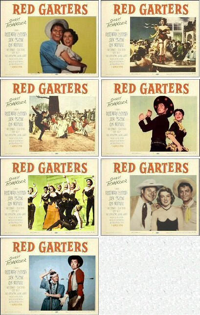Red Garters lobby cards